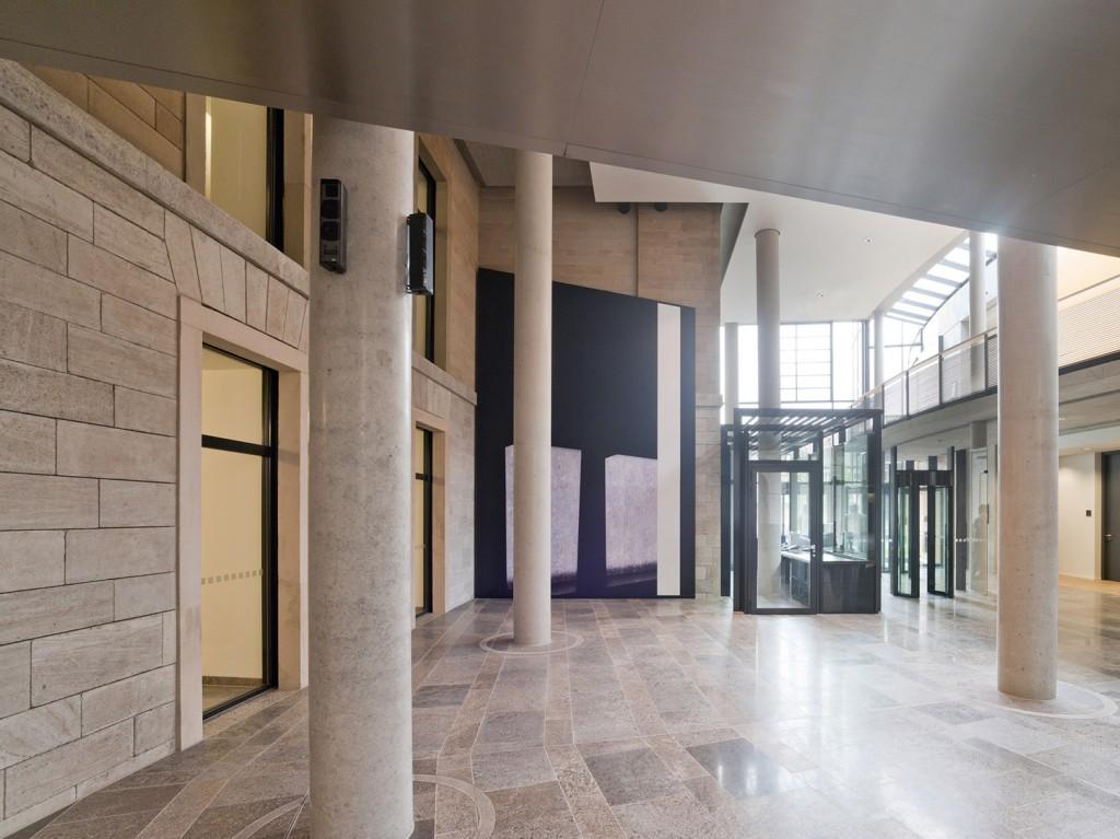 Installation im Justizministerium Bayern